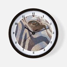 Grant's Zebra Wall Clock