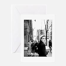5th Avenue Stroll Greeting Card