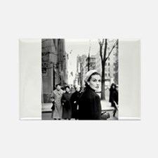 5th Avenue Stroll Rectangle Magnet