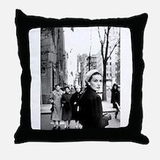 5th Avenue Stroll Throw Pillow