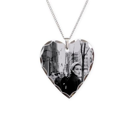 5th Avenue Stroll Necklace Heart Charm