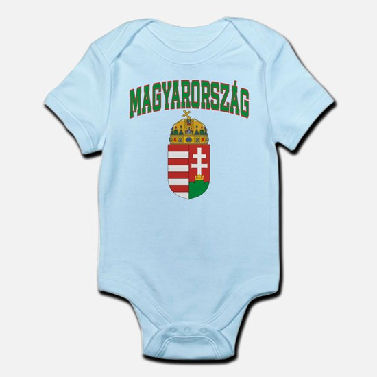 magyarorszag.shirt.front Body Suit