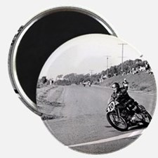 "Motorcycle Race # 10 2.25"" Magnet (100 pack)"