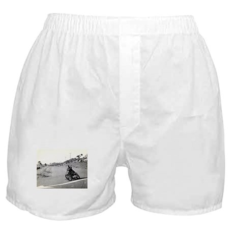 Motorcycle Race # 10 Boxer Shorts