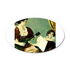 Antique Music Lesson Wall Decal