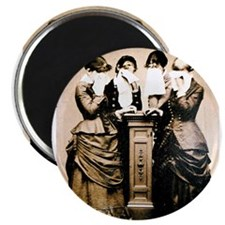 """Four Women Crying 2.25"""" Magnet (10 pack)"""