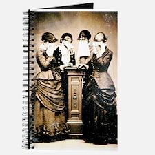 Four Women Crying Journal