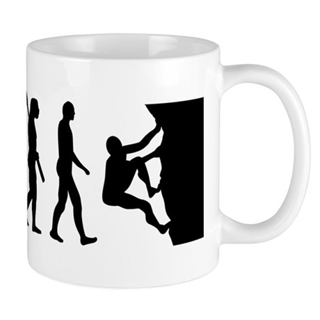 Evolution climbing Mug
