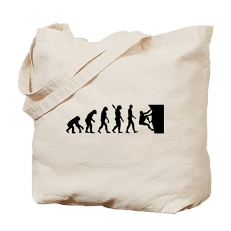 Evolution climbing Tote Bag