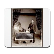 The Phonograph Mousepad