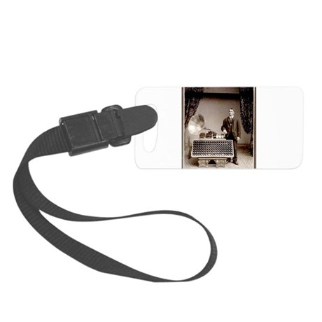 The Phonograph Small Luggage Tag