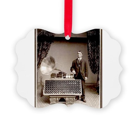 The Phonograph Picture Ornament