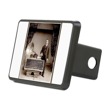 The Phonograph Rectangular Hitch Cover
