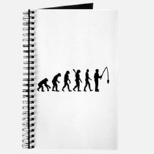 Evolution fishing man Journal