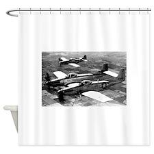 Propeller Planes Shower Curtain