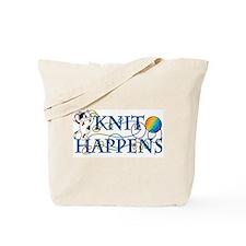 Knit Happens (Cat) Tote Bag