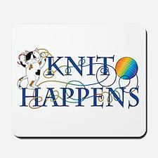 Knit Happens (Cat) Mousepad