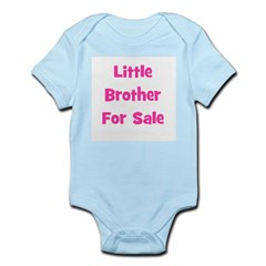 Little Brother For Sale Infant Creeper