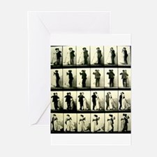 Vintage Dance Sequence Greeting Cards (Pk of 20)