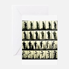 Vintage Dance Sequence Greeting Card