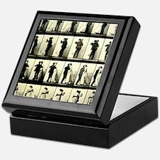 Vintage Dance Sequence Keepsake Box