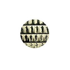 Vintage Dance Sequence Mini Button (100 pack)