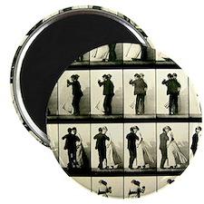 """Vintage Dance Sequence 2.25"""" Magnet (10 pack)"""