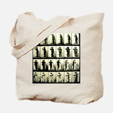 Vintage Dance Sequence Tote Bag