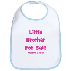 Little Brother For Sale Bib
