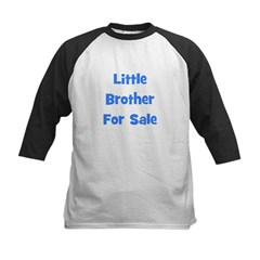 Little Brother For Sale Kids Baseball Jersey