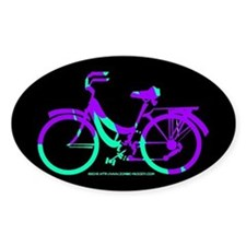 80s Style Bicycling Stivker Decal