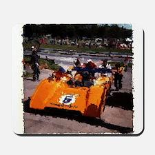 Orange 5: Can-Am MacLaren Mousepad