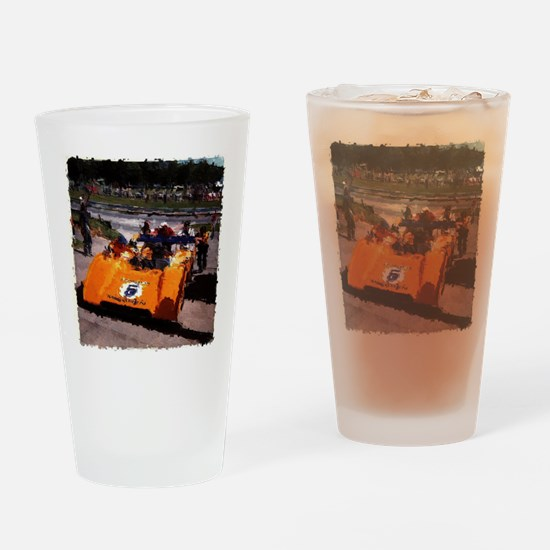 Orange 5: Can-Am MacLaren Drinking Glass