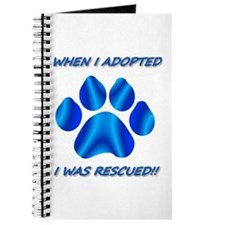 When I Adopted Blue Journal