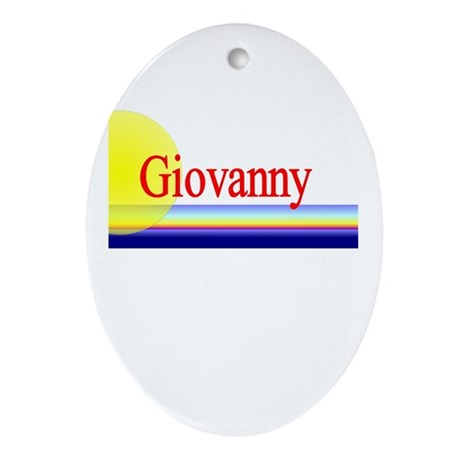 Giovanny Oval Ornament