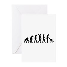 Evolution BBQ barbecue Greeting Cards (Pk of 10)