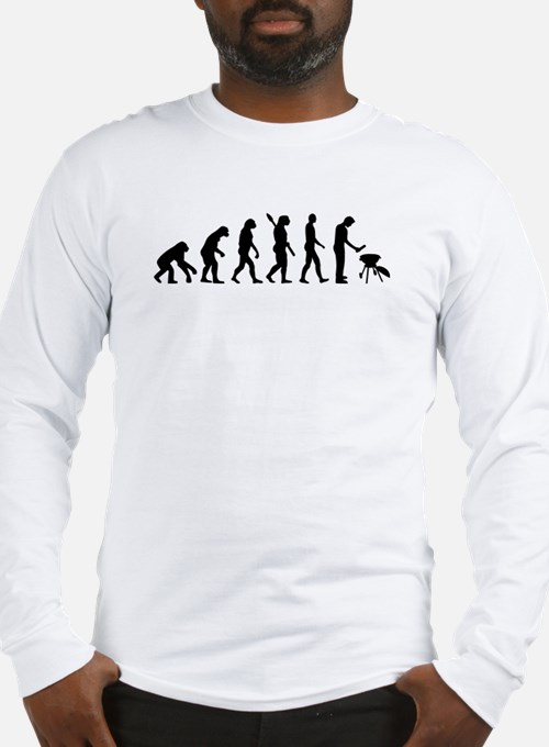 Evolution BBQ barbecue Long Sleeve T-Shirt