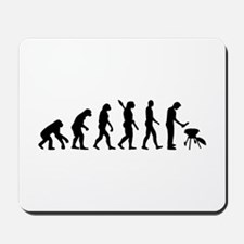 Evolution BBQ barbecue Mousepad