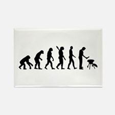 Evolution BBQ barbecue Rectangle Magnet (100 pack)