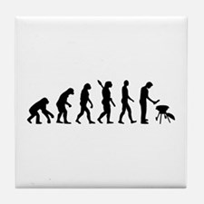 Evolution BBQ barbecue Tile Coaster