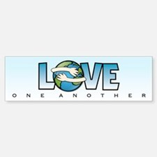LOVE ONE ANOTHER - Bumper Bumper Bumper Sticker