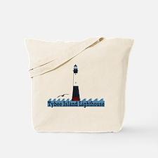 Tybee Island GA - Lighthouse Design. Tote Bag