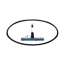 Tybee Island GA - Lighthouse Design. Patches