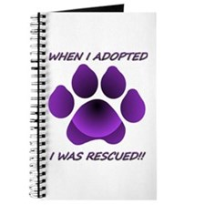 When I Adopted purple Journal