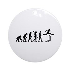 Evolution hurdles Ornament (Round)