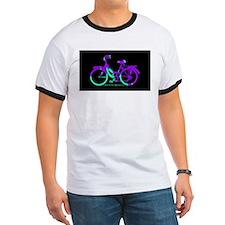 80s Style Bicycling Stivker T