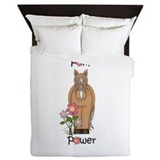 Pony Power Horse Pink Queen Duvet