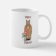 Pony Power Horse Pink Mug