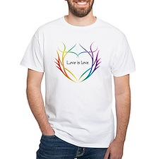 Tribal (Heart) - Light Tee Shirts T-Shirt