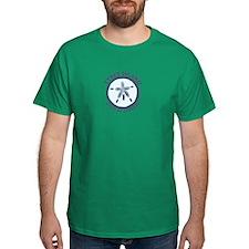 Tybee Island GA - Sand Dollar Design. T-Shirt